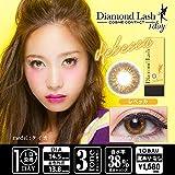 ダイアモンドラッシュ Diamond Lash 1day 度なし 04 レベッカ 10枚入 (PWR) 0.00