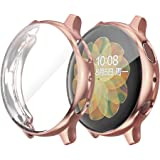 NN.ORANIE for Galaxy Watch Active2 40mm ケース フルカバー メッキ TPU ケース ソフト メッキ仕上げ 超軽量 耐衝撃 全面傷防止 保護ケース Samsung Galaxy Watch Active2に対応(