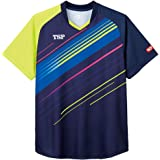 ティーエスピー(TSP) 卓球 男女兼用 ゲームシャツ ピオネーラシャツ JTTA公認 吸汗速乾 軽量 031433
