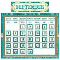 Teacher Created Resources TCR9541 Shabby Chic Calendar Set,49 Pieces [並行輸入品]