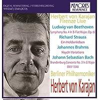 カラヤン指揮ベルリンフィル ベートーヴェン:交響曲第4番、シュトラウス:交響詩「英雄の生涯」