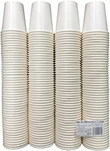 ニッチプラス 結露に強い両面PE加工 紙コップ ホワイト 7オンス(210ml) HOT/COLD兼用 200個入