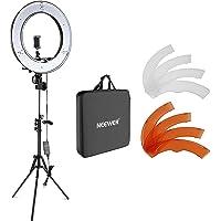 Neewer 18インチLEDリングライト 55W 5500K 調光可能 省エネSMD LED カメラ写真ビデオ用照明セ…