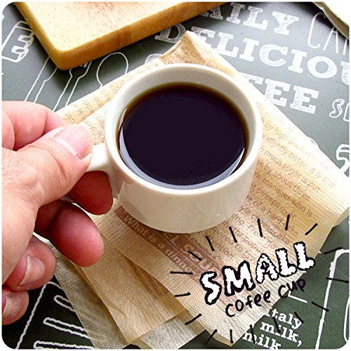アウトレット デミタスコーヒーカップ 100cc カップだけ 皿なし スタック エスプレッソ 白い食器 陶器 美濃焼 日本製 ポーセリンアート コップ 小さい かわいい おしゃれ 業務用にも