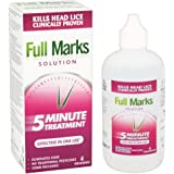 Full Marks Head Lice Solution Clinically Proven, 200ml