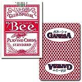 トランプ Bee(ビー)92 ポーカーサイズ ガネーシャ レッド