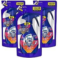 【まとめ買い】 ファブリーズ スポーツ 消臭スプレー 布用 フレッシュライムの香り 詰め替え320mL×3個