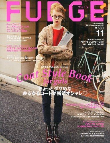 FUDGE (ファッジ) 2013年 11月号 [雑誌]の詳細を見る