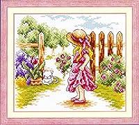 クロスステッチ刺繍キットFenceGirl-110908