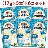 【セット販売】チャオ かつお節ボーノ 魚介クリームスープ (17g×5本)×6コ