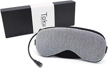 TAKU STORE ホットアイマスク 蒸気 USB 眼罩 温冷両用 分離型ラベンダーの香り眼精疲労回復 遮光 快眠 飛行機 耳栓 収納袋付き