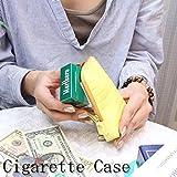【メール便配送】クロコ 型押し タバコケース ファスナー式 ポーチ