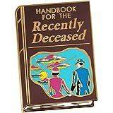 Pinsanity 'Handbook for the Recently Deceased' Enamel Lapel Pin