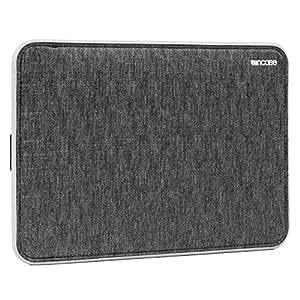 Incase ICON Sleeve with Tensaerlite for MacBook スリーブ 保護 ケース バッグ (13インチ Retina, ブラック&グレー)