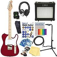 エレキギター 初心者セット テレキャスタータイプ 15点セット Legend LTE-Z CA/M