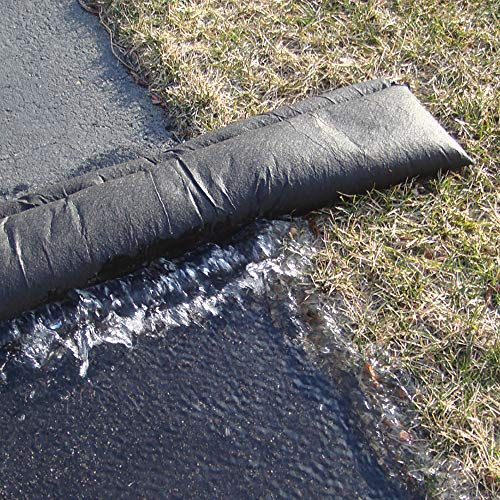 Quick Dam Water Activated Flood Barrier 5 Feet 2-Pack