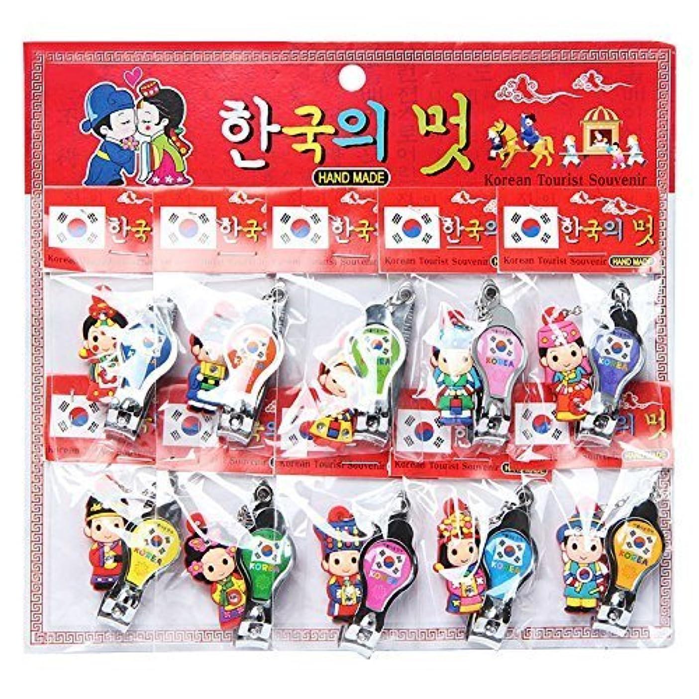 残基合わせて雪だるまを作るKOREA style Nail clippers / 韓国のお土産ギフト [並行輸入品]