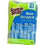 Scotch Brite Scotch Brite Heavy Duty Scrub Sponge Net Count (21 Pack), 21 Count (744840)