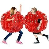 SUNSHINE-MALL Inflatable Bubble Balls for Kids,Inflatable Buddy Bumper Balls Sumo Game,Giant Human Hamster Knocker Ball Body