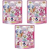 バンダイ びっくらたまご 入浴剤 キラキラ☆プリキュアアラモード プリキュアドールマスコット 3個セット