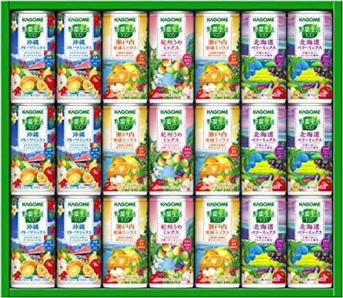 カゴメ野菜生活地産全消めぐりギフトYK30