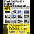 Final Cut Pro X + Motion 5  Standard Techniques[第3版] -プロが教える映像制作テクニック100