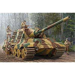 トランペッター 1/16 ドイツ軍 Sd.kfz.186 ヤークトティーガー プラモデル 00923