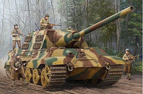 ドイツ軍 1//16 Sd.kfz.186 00923 ヤークトティーガー プラモデル トランペッター