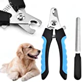 Dog Nail Clippers,Cat Nail Clipper,Pets Nail Clippers and Trimmers with Safety Guard to Avoid Over-Cutting Toenail for Small