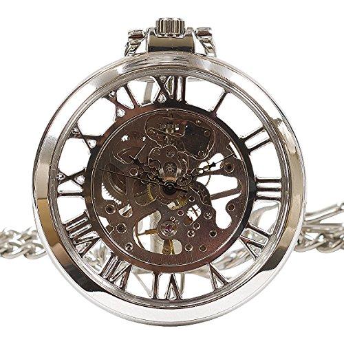 機械式 手巻き 懐中時計