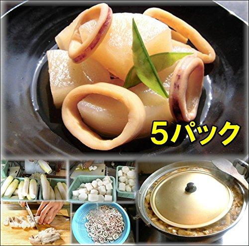 イカ大根 5食 惣菜 お惣菜 おかず 惣菜セット 詰め合わせ お弁当 無添加 京都 手つくり