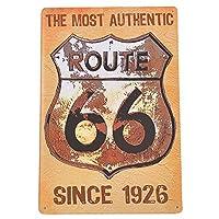 サインプレート ブリキ看板 ルート66 r66-2-010 / アメリカン雑貨 インテリア ROUTE66