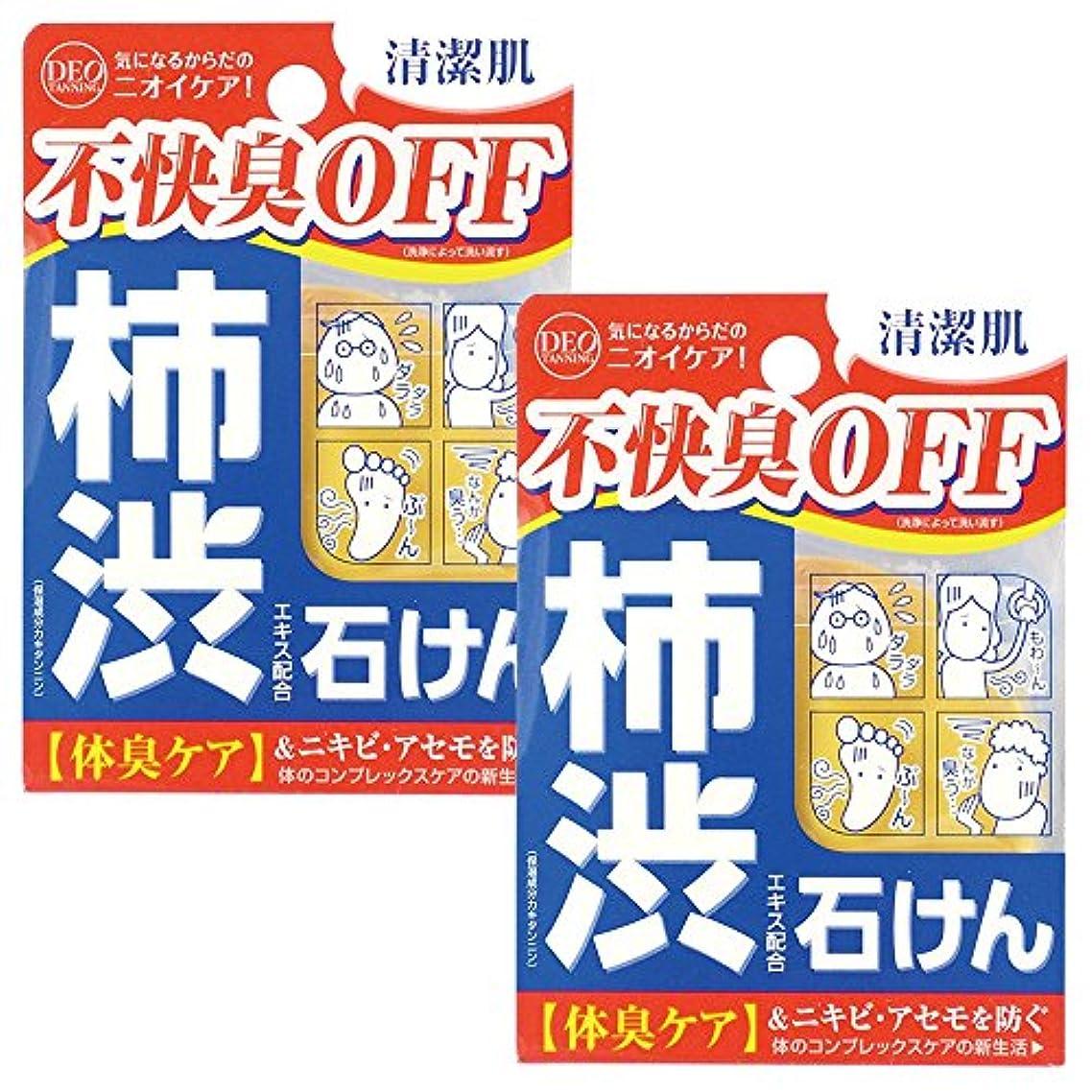 上下する四分円媒染剤【セット品】デオタンニング ソープ 100g ×2個