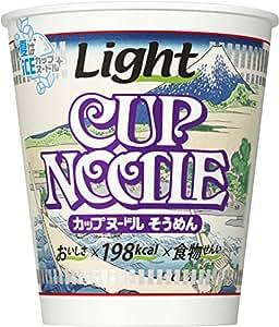 日清カップヌードル ライト そうめん 1ケース(12食入)