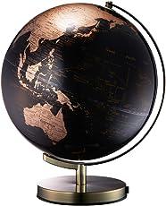 ナカバヤシ 地球儀 ライティングアース 光る地球型オブジェ 球径30cm ゴールド LE-30-GL