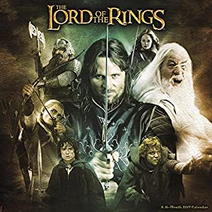 The Lord of the Rings 2019 Calendar