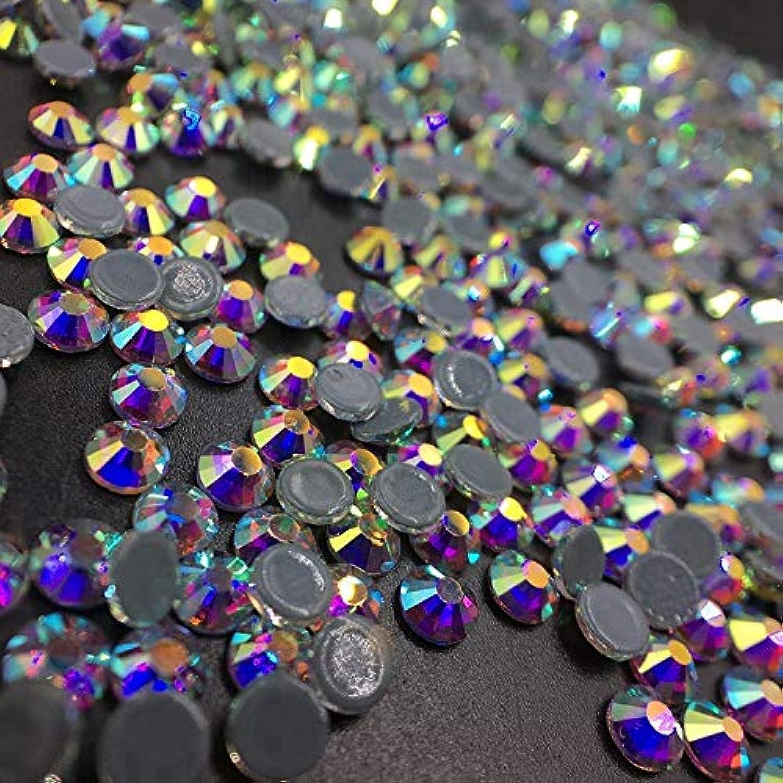 曲げる懸念作り上げるWTX ガラス製 ラインストーン 高品質 1440粒 SS4~SS30 Hotfix ホットフィックスラインストーン (SS12(約3.0-3.2mm、1440粒), オーロラクリスタル)
