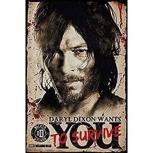 WALKING DEAD ウォーキングデッド (2019年秋シーズン10) - Daryl Needs You/ポスター 【公式/オフィシャル】
