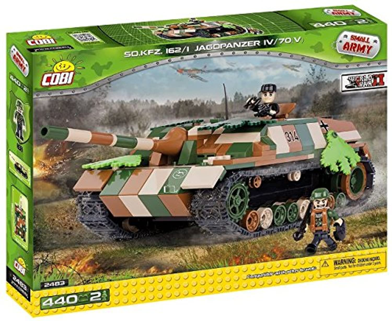 Cobi Small Army ミリタリーブロック WWII #2483 ドイツ軍 ヤークトパンツァーVI 駆逐戦車 Jagdpanzer VI L70【COBI 日本正規総代理店】
