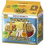 マルちゃん正麺 ごまだれ冷し 5食パック 120X5g ×6個