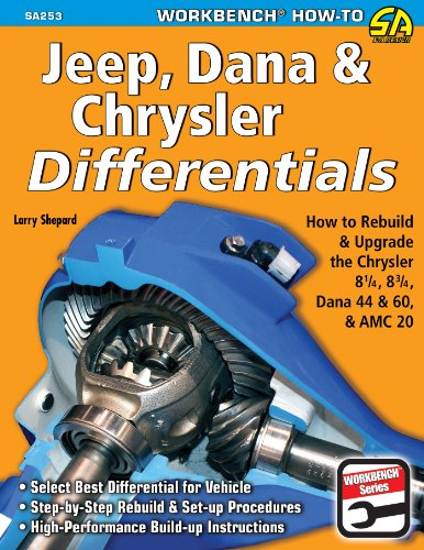 Jeep, Dana & Chrysler Differentials: How to Rebuild the 8-1/4, 8-3/4, Dana 44 & 60 & AMC 20 (NONE)