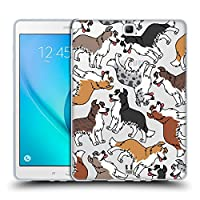 Head Case Designs ボーダーコリー ドッグブリード・パターンズ6 Samsung Galaxy Tab A 9.7 専用ソフトジェルケース