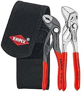クニペックス KNIPEX 002072V01 ミニコブラ + プライヤーレンチセット