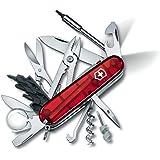 VICTORINOX(ビクトリノックス) ナイフ 精密ドライバーセット PC 分解 DIY 工具セット サイバーツールライト 1.7925.T 【国内正規品 保証付】