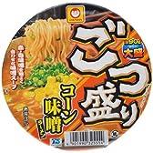 【ケース販売】ごつ盛り コーン味噌ラーメン 138g×12個