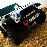 7インチ 60W ハイ ロー ビーム DRL Halo とともに エンジェル・アイズ led ヘッドライト ために Jeep ラングラー Jk Tj Lj 97-15