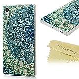 Sony Xperia Z5 ケース Mavis's Diary カバー クリア 超薄型 耐衝撃 保護キャップ スマホケース PC素材 トーテム