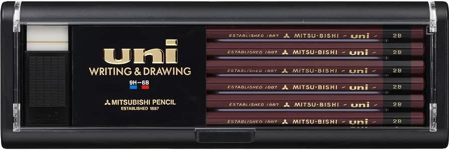 三菱鉛筆 鉛筆 ユニ 2B 1ダース U2B