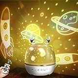 【令和進化版】Bluetooth対応&リモコン・タイマ付き ZEROTONE スタープロジェクターライト 星空ライト ベッドサイドランプ Bluetooth対応スピーカ 音楽再生 6種類投影映画フィルム プラネタリウム ロマンチック雰囲気作り スター