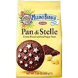 Barilla Mulino Bianco Pan Di Stelle Chocolate Biscuit Cookie, 200g
